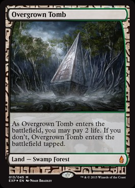 Overgrown Tomb (Masterpiece Foil)