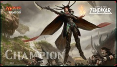 Magic Battle for Zendikar Game Day Champion Playmat