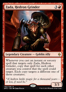 Zada, Hedron Grinder
