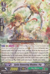 Early-flowering Maiden, Pia - G-BT04/043EN - R