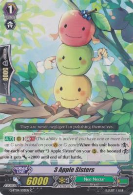 3 Apple Sisters - G-BT04/103EN - C