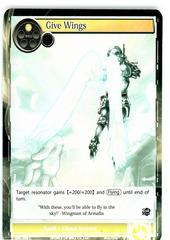 Give Wings - SKL-008 - C - 1st Edition