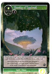 Blessing of Yggdrasil - SKL-053 - C - 1st Edition on Channel Fireball