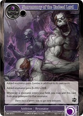 Necromancy of the Undead Lord - SKL-073 - C - 1st Edition