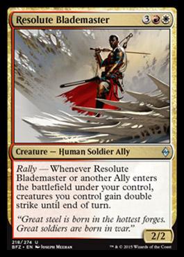 Resolute Blademaster - Foil
