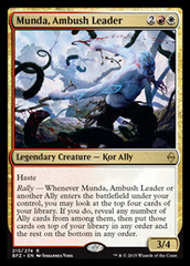 Munda, Ambush Leader - Foil