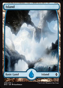 Island (256) - Foil - Full Art