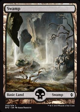 Swamp (262) - Foil - Full Art