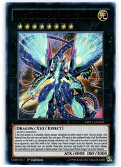 Number 62: Galaxy-Eyes Prime Photon Dragon - MP15-EN022 - Ultra Rare - 1st Edition