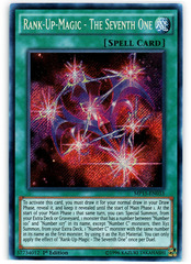Rank-Up-Magic - The Seventh One - MP15-EN033 - Secret Rare - 1st Edition