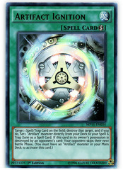 Artifact Ignition - MP15-EN034 - Ultra Rare - 1st Edition on Channel Fireball