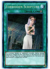 Forbidden Scripture - MP15-EN038 - Secret Rare - 1st Edition