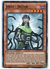 Jinzo - Jector - MP15-EN214 - Super Rare - 1st Edition