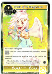 Herald of the Winged Lord - SKL-011 - C - 1st Edition (Foil)