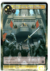 Order of the Sacred Queen - SKL-014 - C - 1st Edition (Foil)