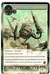 Charging Assaulter - SKL-082 - C - 1st Edition (Foil)