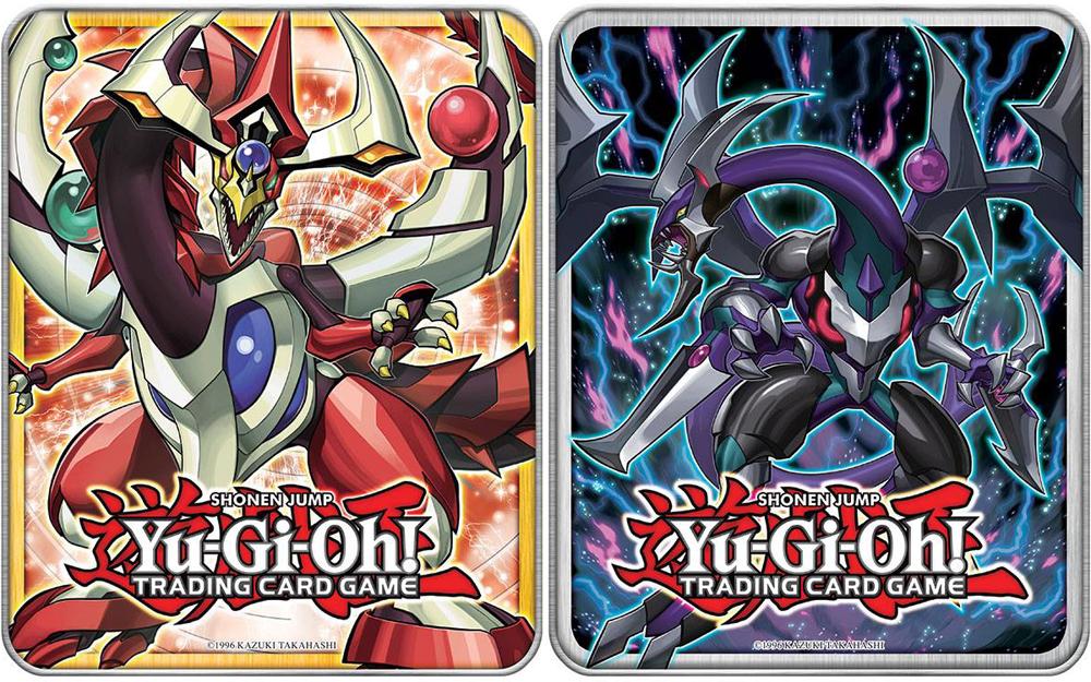 2015 Dark Rebellion Xyz Dragon and Odd-Eyes Pendulum Dragon Collector's Tins (Set of 2)