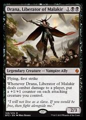 Drana, Liberator of Malakir - Foil on Channel Fireball