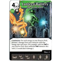 Lantern Battery - Speak the Oath (Die & Card Combo)