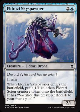 Eldrazi Skyspawner - Foil