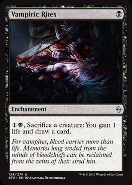 Vampiric Rites - Foil