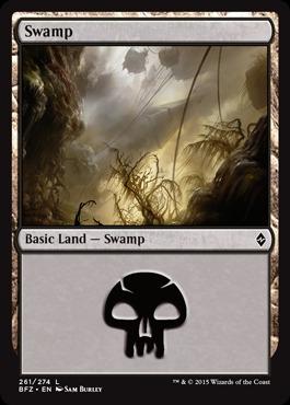 Swamp (261) - [Non-Full Art]