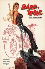 Barb Wire Trade Paperback Vol 01 Steel Harbor Blues