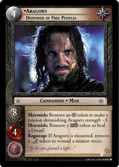Aragorn, Defender of Free Peoples - 0P47 - Promo