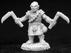 Dark Haven Legends: 02709: Biff, Halfling Monk
