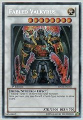 Fabled Valkyrus - HA02-EN056 - Secret Rare - 1st Edition