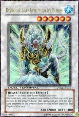 Dewloren, Tiger King of the Ice Barrier - DT02-EN033 - Duel Terminal Ultra Parallel Rare - 1st Edition