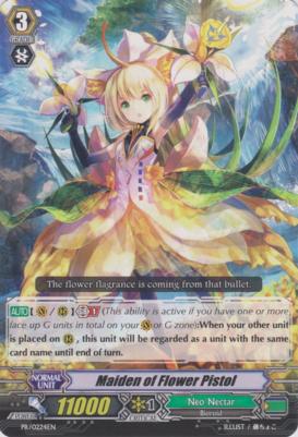 Maiden of Flower Pistol - PR/0224EN - PR