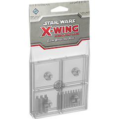 Star Wars: X-Wing Miniatures Game - Clear Bases and Pegs