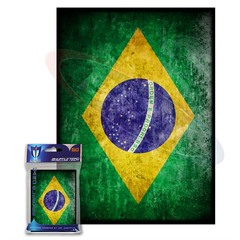 BCW Max Protection Art Sleeves - Brazil Flag (50 ct)