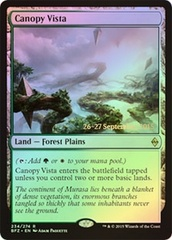 Canopy Vista - Battle for Zendikar Prerelease Promo