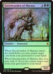 Greenwarden of Murasa - Foil - Prerelease Promo