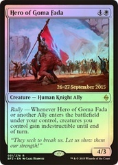 Hero of Goma Fada - Foil - Prerelease Promo