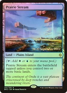 Prairie Stream - Foil - Prerelease Promo