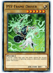 PSY-Frame Driver - HSRD-EN028 - Rare - 1st Edition on Channel Fireball