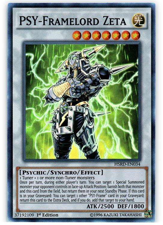 PSY-Framelord Zeta - HSRD-EN034 - Super Rare - 1st Edition