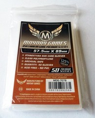 Mayday Games - USA Chimera Card Sleeves - Premium - 57.5mm x 89mm - 50ct