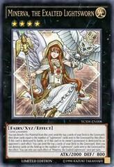 Minerva, The Exalted Lightsworn - YCSW-EN008 - Ultra Rare - Limited Edition