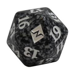 Magic Spindown Die - Battle for Zendikar - Black