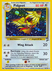 Pidgeot - 14/130 - Holo Rare - Unlimited Edition