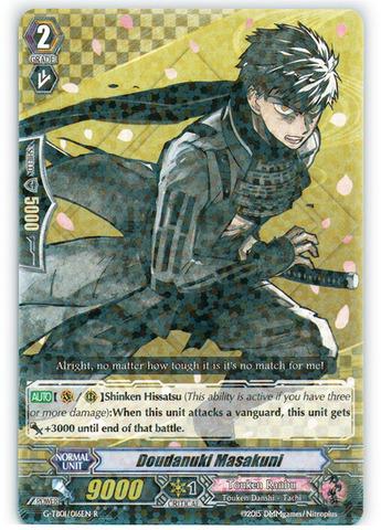 Doudanuki Masakuni - G-TB01/016EN - R