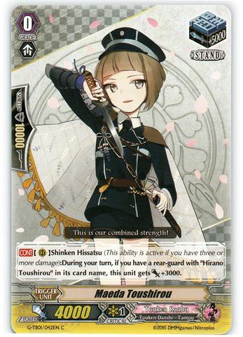 Maeda Toushirou - G-TB01/042EN - C