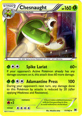 Chesnaught - 11/162 - Holo Rare