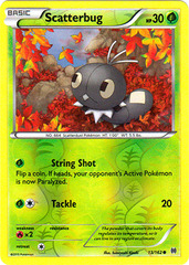 Scatterbug - 13/162 - Common - Reverse Holo