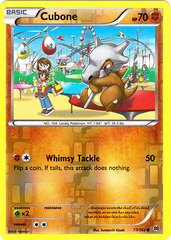 Cubone - 77/162 - Common - Reverse Holo