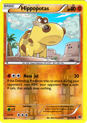 Hippopotas - 83/162 - Common - Reverse Holo